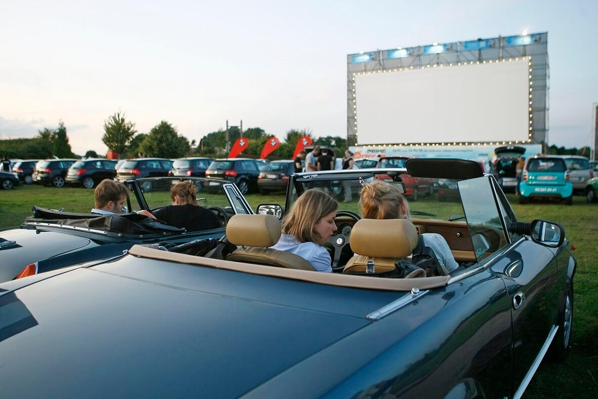 Sfeerbeeld Bobbejaanland Drive-In Movies