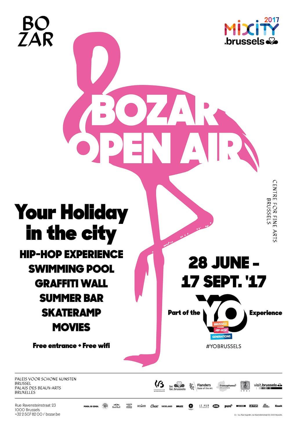 Sfeerbeeld BOZAR Open Air