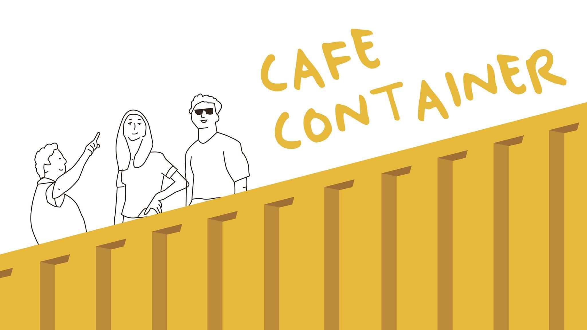 Sfeerbeeld Café Container