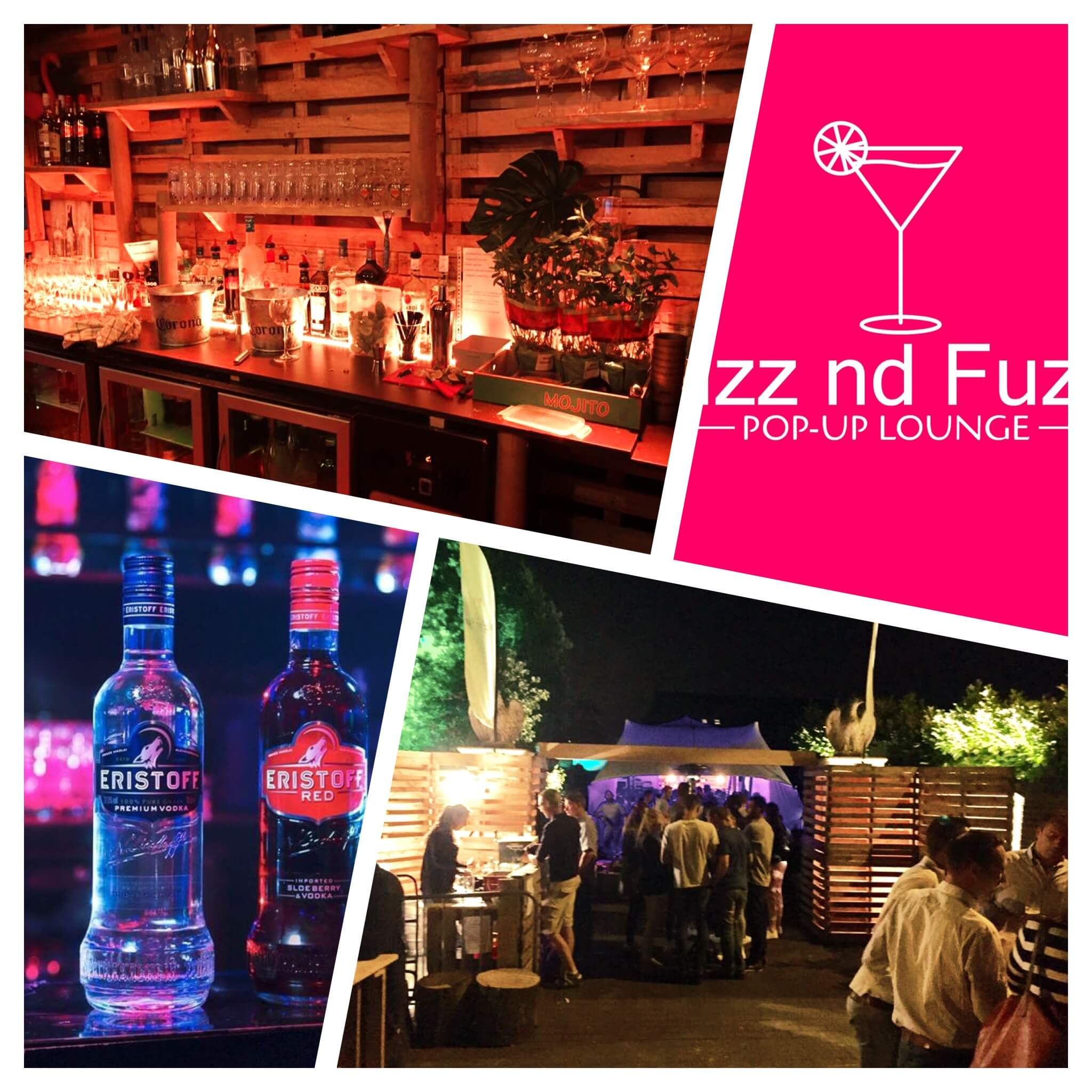 Sfeerbeeld Fizz nd Fuzz pop-up lounge