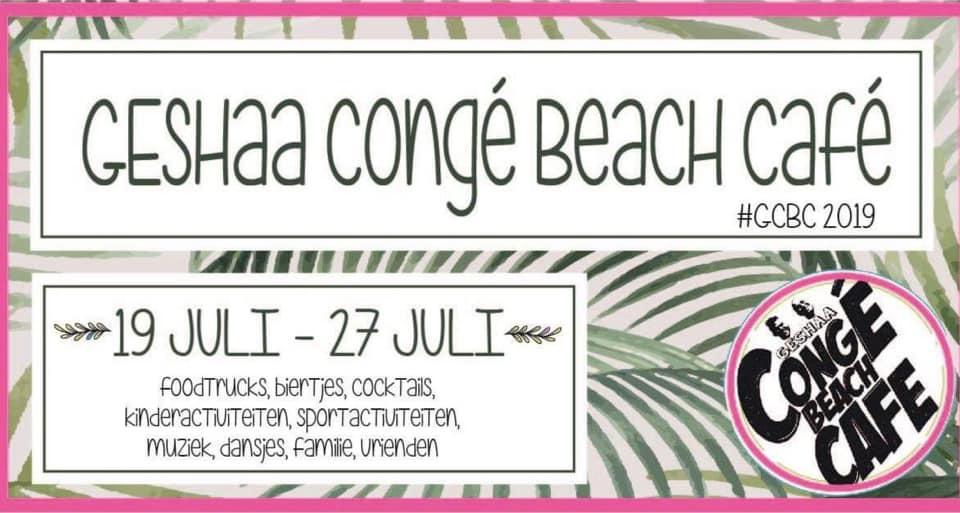 Sfeerbeeld Geshaa Congé Beach Cafe