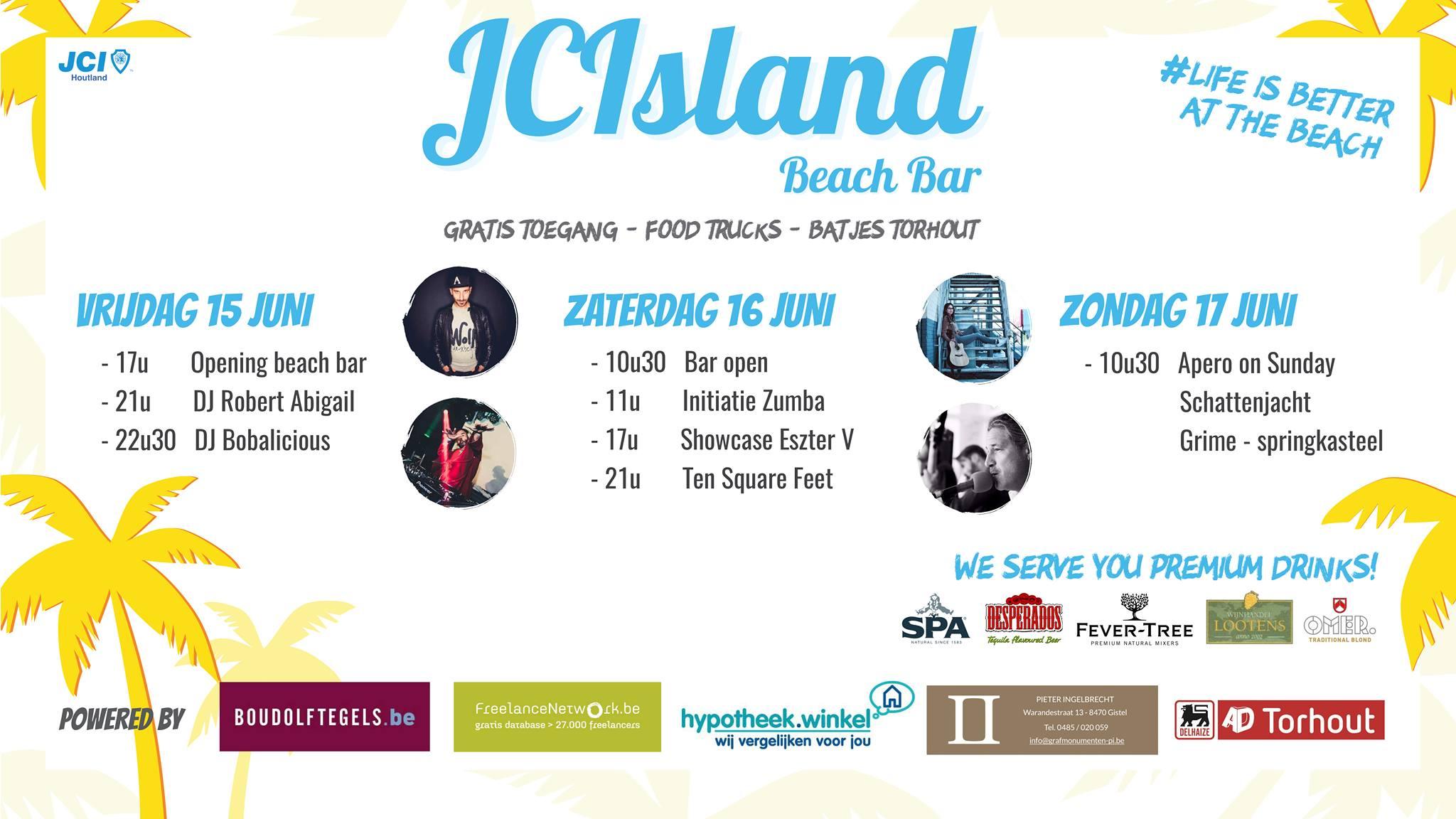 Sfeerbeeld JCIsland Beach Bar