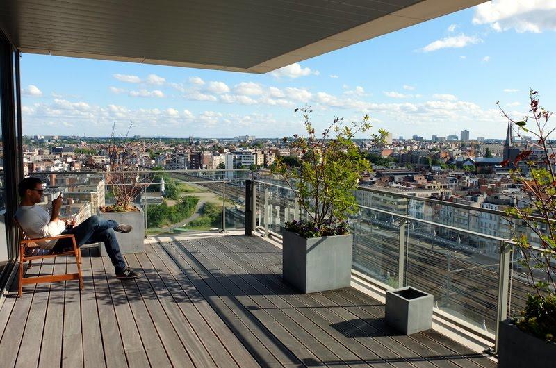 Sfeerbeeld Skybar Antwerp